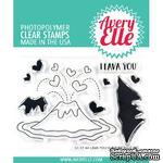 Акриловый штамп Avery Elle - Lava You Clear Stamps - ScrapUA.com