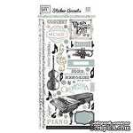 Наклейки от Echo Park - Melody of Life Collection - Cardstock Stickers, 15х30 см - ScrapUA.com