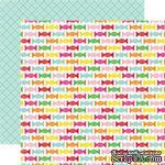 Лист скрапбумаги от Echo Park - Candy Sweets, 30х30 см - ScrapUA.com