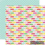 Двусторонний лист бумаги от Echo Park - Candy Sweets, 30,5x30,5см - ScrapUA.com