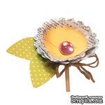 Лезвия от Sizzix - Bigz Die - Flower, 3-D Wrapped, 3 шт - ScrapUA.com