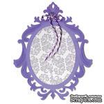 Лезвие Sizzix - Sizzix Thinlits Die - Frame, Ornate Oval - ScrapUA.com