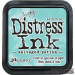 Штемпельная подушка Ranger Distress Ink Pad - Salvaged Patina - ScrapUA.com