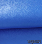 Экокожа, цвет - синий, толщина 0.6 мм, 50Х70 см - ScrapUA.com