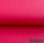 Экокожа, цвет - фуксия, толщина 0.6 мм, 50Х70 см - ScrapUA.com