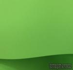 Дизайнерская бумага, 30х30, цвет салатовый, плотность 120 г/м2   - ScrapUA.com