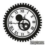Акриловый штамп Lesia ZghardaStP025 Часы с шестерней - ScrapUA.com
