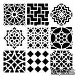 Маска The Crafter's Workshop - Moroccan Tiles, 30х30 см - ScrapUA.com