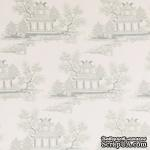 Ткань Tilda - Seaside Life China Greygreen 100 % хлопок, 50х55 см - ScrapUA.com