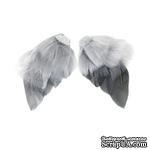 Крылья для ангела Tilda, серые, 4 штуки - ScrapUA.com