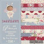 Набор скрапбумаги Tilda - Sweetheart, 12 листов, 15х15см - ScrapUA.com