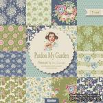 Набор скрапбумаги Tilda - Pardon My Garden, 12 листов, 30х30см - ScrapUA.com