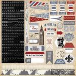 Набор наклеек Teresa Collins - Far & Away - Stickers - ScrapUA.com