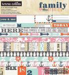 Набор двусторонней скрапбумаги Teresa Collins Designs - Family Stories - Paper Pad, 15х15 см - ScrapUA.com