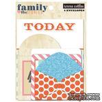 Набор конвертов Teresa Collins Designs - Family Stories - Envelopes - ScrapUA.com