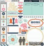 Высечки из чипборда Teresa Collins Designs - Family Stories, 30х30 см - ScrapUA.com