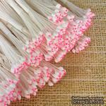 Тайские тычинки, бело - розовые головки, 46-52 шт. - ScrapUA.com