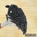 Тычинки для лилии на проволоке, цвет черный, 5 шт. - ScrapUA.com