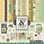 Набор бумаги от Echo Park Paper Co - This & That Charming Collection Kit, 30х30 - ScrapUA.com