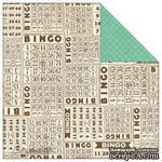 Лист скрапбумаги от Echo Park - Bingo, This & That Graceful, 30х30 см - ScrapUA.com
