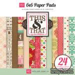 """Набор бумаги от Echo Park """"This & That Graceful"""", 15х15, 24 листов - ScrapUA.com"""