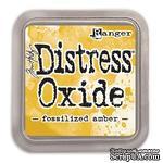 Оксидные чернила Ranger - Tim Holtz - Distress Oxides - Fossilized Amber - ScrapUA.com