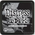 Штемпельная подушка Ranger - Distress Mini Ink Pad - Black Soot - ScrapUA.com