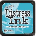 Штемпельная подушка Ranger - Distress Mini Ink Pad - Broken China - ScrapUA.com