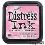Штемпельная подушка Ranger Distress Ink Pad - Kitsch Flamingo - ScrapUA.com