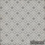 Лист скрапбумаги от Echo Park - Snowflake Flurry, 30х30 см - ScrapUA.com