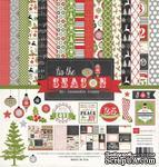 Набор бумаги и декора от Echo Park - Tis the Season Collection Kit - ScrapUA.com