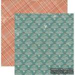 Лист скрапбумаги Authentique Tinsel, 30х30 см, двусторонняя - ScrapUA.com