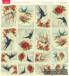 Лист с картинками от Тамары Старцевой - №01, 20,4х21,5 см, 16 шт. - ScrapUA.com