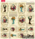 Лист с картинками от Тамары Старцевой - №17, 20,4х21,5 см, 16 шт. - ScrapUA.com