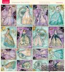 Лист с картинками от Тамары Старцевой - №33, 20,4х21,5 см, 16 шт. - ScrapUA.com