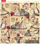 Лист с картинками от Тамары Старцевой - №09, 20,4х21,5 см, 16 шт. - ScrapUA.com