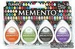 Набор чернил для штампинга Tsukineko - Memento Dew Drops - Jelly Beans, 4 штуки - ScrapUA.com