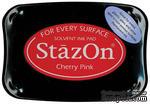 Перманентные чернила Tsukineko - StazOn Pads Cherry Pink - ScrapUA.com