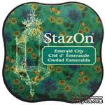 Чернила Tsukineko StazOn Midi Ink Pad - Emerald City - ScrapUA.com