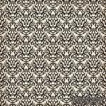 Лист скрапбумаги от Echo Park - BLACK DAMASK, 30х30 см - ScrapUA.com