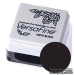 Пигментные быстросохнущие чернила Tsukineko - VersaFine 1in Cube Pads Onyx Black - ScrapUA.com