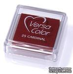 Пигментные чернила Tsukineko - VersaColor Small Pads Cardinal - ScrapUA.com