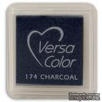 Пигментные чернила Tsukineko - VersaColor Small Pads Charcoal - ScrapUA.com