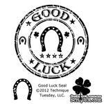 Набор акриловых штампов Technique Tuesday - Good Luck Seal - ScrapUA.com
