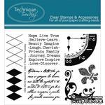 Набор акриловых штампов Technique Tuesday - Old World Square (OLDEW) - ScrapUA.com