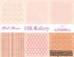 Набор двусторонней скрапбумаги UHK Gallery - Strawberry fields, 30,5х30,5 см, 6 листов - ScrapUA.com