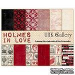 Набор двусторонней скрапбумаги UHK Gallery - Holmes in love, 6 листов - ScrapUA.com