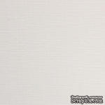 Картон белый Ultrawhite Ivory Board,30x30см, 280гр/м2, с фактурой льна - ScrapUA.com