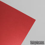 Картон Metallic Board красный, 250гр/м2, red, 18,5х30 - ScrapUA.com