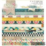 Набор бумаги от Glitz Design - Uncharted Waters - 15х15 см - ScrapUA.com